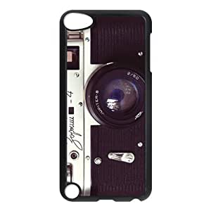 LJF phone case # Vintage Camera Design for iPod Touch 5 TPU Case