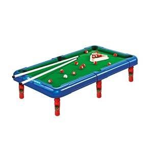 Billard Spiel 50,5x29x12cm / Mini Billiardtisch mit Zubehör, Kugeln, Queues...