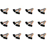 12 x Quantity of Walkera QR X350 PRO FPV (100mm) Super Clean RC Male to Male Ribbon Extensions Set(Servo Connector) - FAST FROM Orlando, Florida USA!