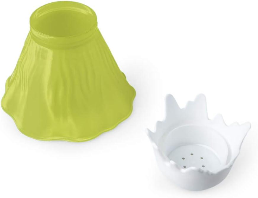 Balvi Nettoie Micro-Ondes Volcano Couleur Vert Plastique PP