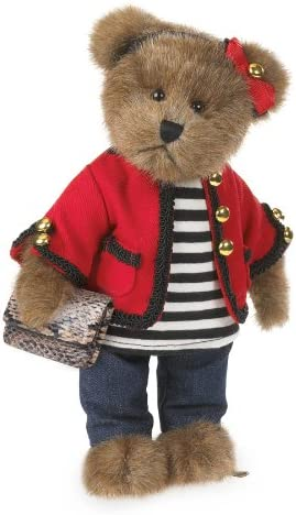 "Boyds Bears Parisian 10/"" Coco de Bearvoir Bear Plush ~ 4038160"