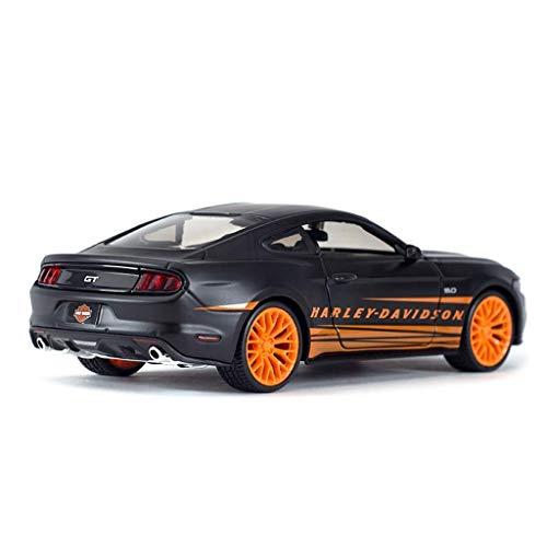 Model Car Auto-Modell 1.24 Ford Mustang Simulation Legierung Auto-Modell-Spielzeug Ornamente 20x8.5x5.7CM Model Car Ferien