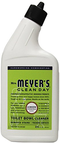 Mrs. Meyer's Clean Day Toilet Bowl Cleaner, Lemon Verbena, 24 fl oz