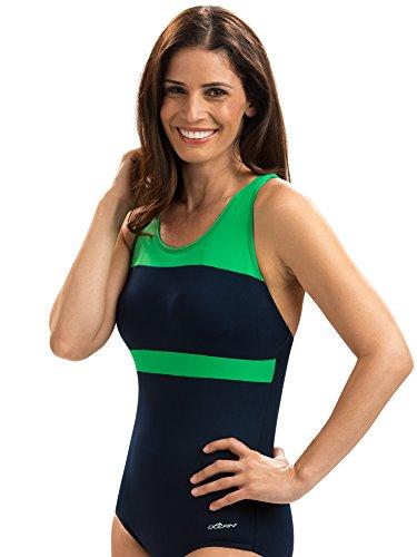onservative Lap Suit | AMZ68553 (14, Navy Green) ()