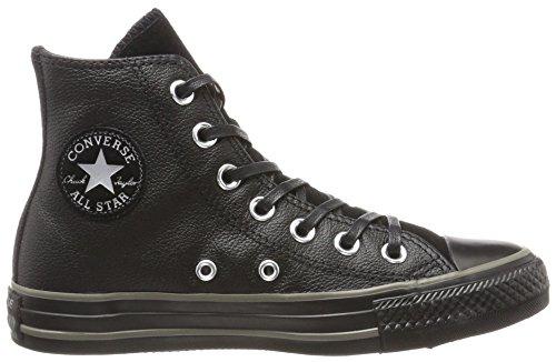 Unisex black Star charcoal Scarpe Da Converse – Schwarz black Adulto Basse Ginnastica All Hi Leather Suede 4n1pBaUq