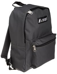 Everest Luggage Basic Backpack, Charcoal, Medium