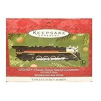 1 X 2001 Hallmark Ornament Lionel Chessie Steam Locomotora especial n. ° 6 en serie