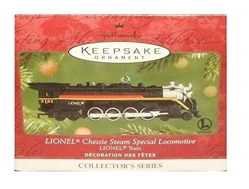 1 X 2001 Hallmark Ornament Lionel Chessie Steam Special Locomotive # 6 in series