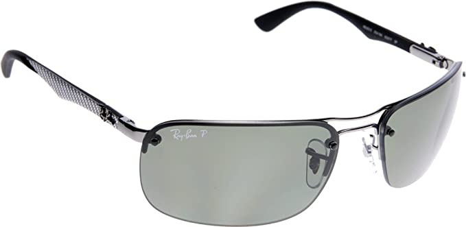 b74755efd14 ... usa ray ban tech classic rimless sunglasses in silver g15 polarised 63  g15 crystal green 7604d