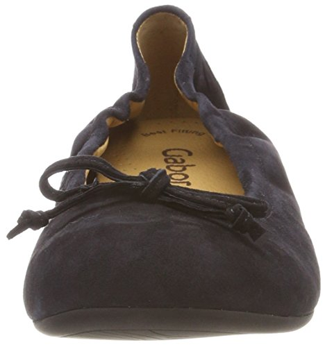 Shoes Azul Casual pazifik Mujer Bailarinas Para Gabor SaHqa