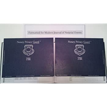 Soft Cover Modern Journal of Notarial Events