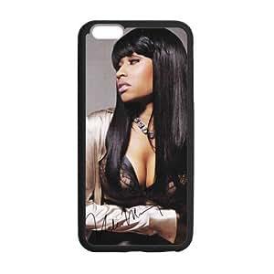 Nicki Minaj Signature Case Custom Durable Hard Cover Case for iPhone 6 Plus - 5.5 inches case - Black Case