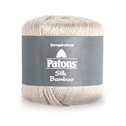 (Patons Silk Bamboo Yarn Almond)