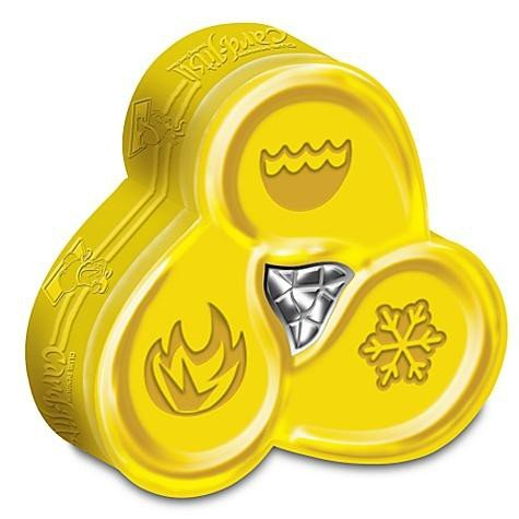 Disney Club Penguin Card - Disney Club Penguin Card Jitsu Water Shaped Tin