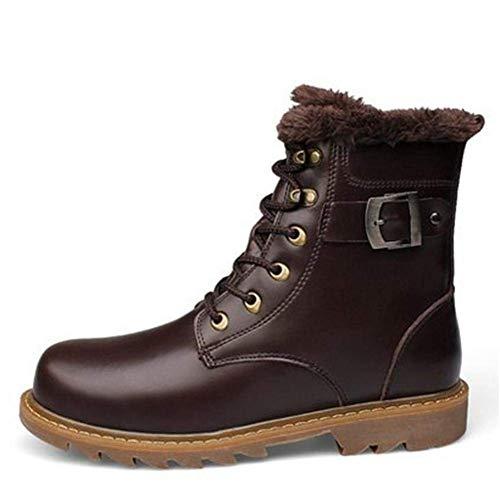 En Chaussures Cachemire Marron 40 Fuxitoggo Sport Taille coloré Dark Wind British Coton De Pour Bottes Hommes Clair Brown Eu wwX8qF0