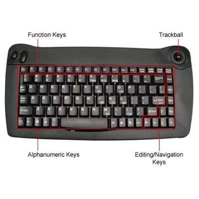 Kb Trackball (Solidtek KB-5010BU Mini w TrackBall USB 13.31