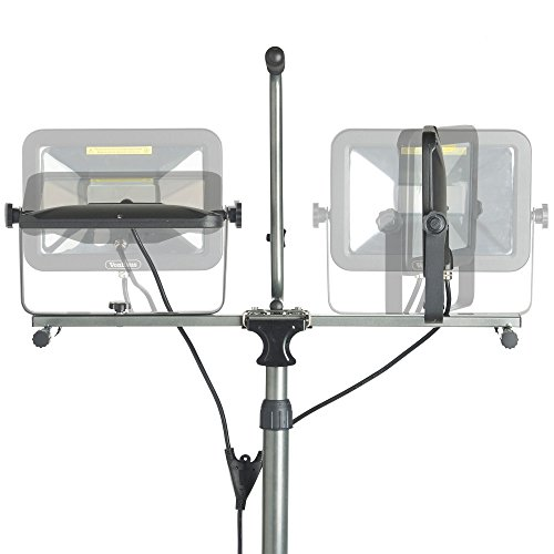 VonHaus Two-Head 10000 Lumen LED Work Light with Detachable Metal Lamp Housing, Metal Telescopic Tripod Stand, Rotating Waterproof Lamps and 8.2Ft Power Cord by VonHaus (Image #4)