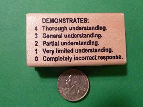 OutletBestSelling Demonstrates 43210 - Teacher's Wood Mounted Rubber Stamp