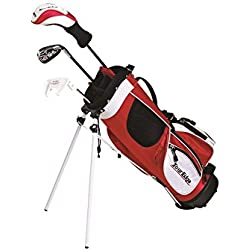 Tour Edge HT Max-J Kids Golf Clubs Set (Junior's, Ages 9-12, 7 Club Set, Right Handed, with Bag)