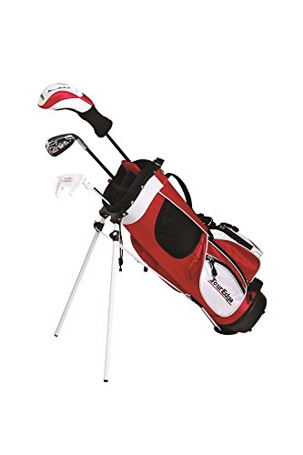 Tour Edge HT Max-J Set (Junior's, Ages 3-5, 3 Club Set, Right Handed, with Bag) - Edge Stand Bag