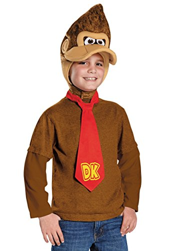 Donkey Kong Super Mario Bros. Nintendo Child Costume Kit]()