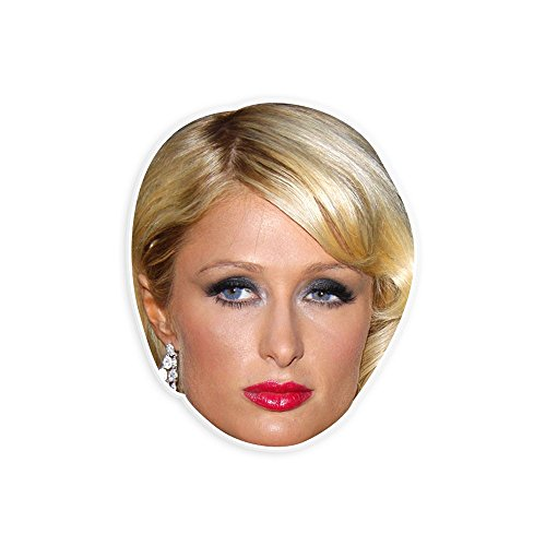 Paris Hilton Halloween Costumes (Angry Paris Hilton Mask - Perfect for Halloween, Masquerade, Parties, Events, Festivals, Concerts - Jumbo Size Waterproof)