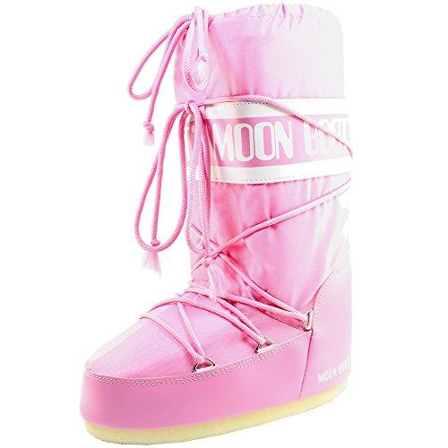 Bottes Boot Pink Nylon Femmes originales de Tecnica Moon neige SavpwZqnS