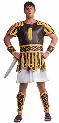 Forum Roman Emperor Complete Adult Costume, Brown, Standard