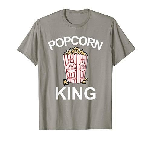 Popcorn Tshirt Popcorn King Movie T Shirts Popped Corn (Popped Corn)