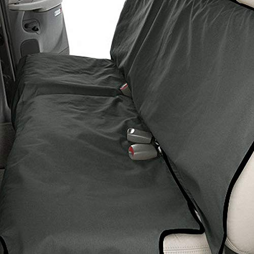 Canine Covers Econo 2nd Row Semi-Custom Fit Seat Protector - Polycotton (Grey)