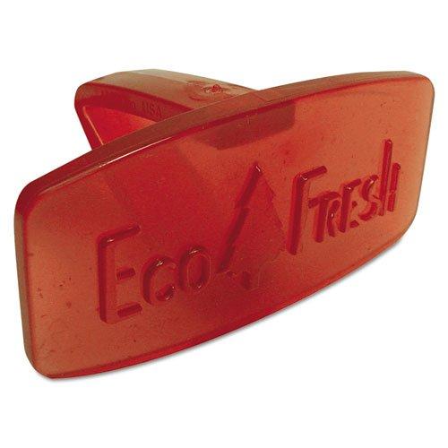 Fresh Products Bowl Blocks - Fresh Products Eco Fresh Bowl Clip, Mango Scent, Orange - 12 bowl clip deodorizers.