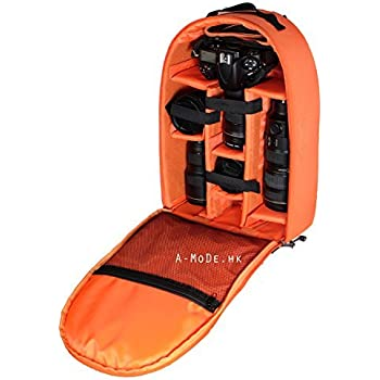 A-MoDe Camera Insert Luggage case bag case Backpack for DSLR SLR Mirrorless Camera Lens Flash protection case IN02X