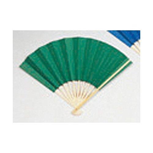 (業務用20セット) ゴークラ カラー扇子 緑 ds-1913897 B077JNDGCQ