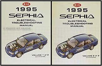 1995 kia sephia wiring diagram manual original: kia: amazon.com: books  amazon.com