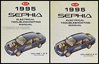 1995 kia sephia wiring diagram manual original kia amazon com books rh amazon com
