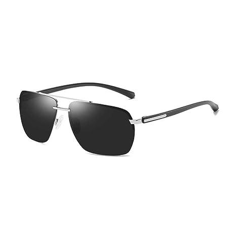 YSZDM Gafas de Sol polarizadas para Hombres, Gafas de Sol ...