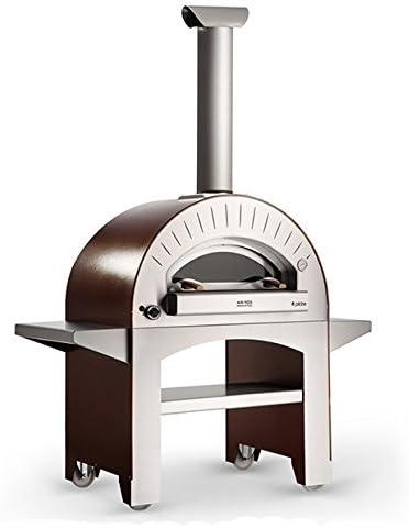 AlfaPizza Forno 4 Pizza Gas Fired – para horno de Pizza horno exterior de alta rendimiento fabricado en Italia – Limited ofrecen: Amazon.es: Jardín