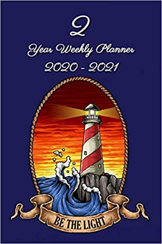 2 Year Weekly Planner 2020 - 2021: Lighthouse - Agenda ...