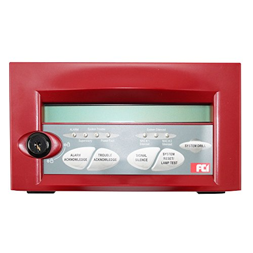 Gamewell-FCI LCD-7100 1100-0399 Remote Serial LCD Display Annunciator