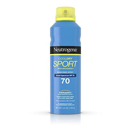 Neutrogena Cooldry Sport Sunscreen Spectrum