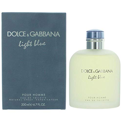 DOLCE&GABBANA Light Blue Pour Homme Eau de Toilette Spray, 6.7 ()