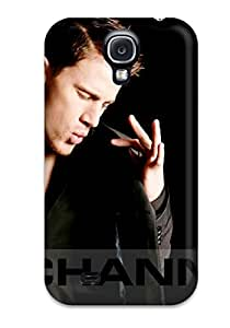 Premium Case With Scratch Resistant Channing Tatum Case Cover For Galaxy S4