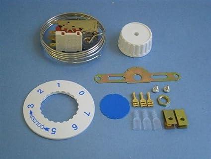 Mini Kühlschrank Mit Thermostat : Universal kühlschrank gefrierschrank thermostat vt amazon