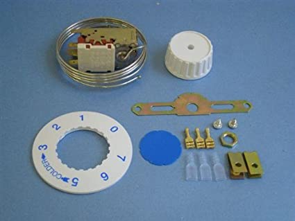 Kühlschrank Thermostat Universal : Universal kühlschrank gefrierschrank thermostat vt amazon