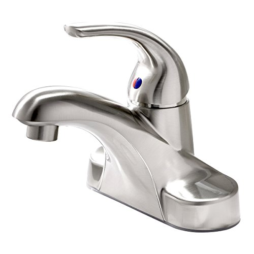 brushed nickel lavatory faucet - 6