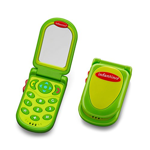 Infantino Flip Peek Phone Green product image