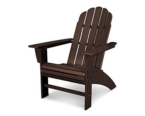 POLYWOOD Vineyard Outdoor Curveback Adirondack Chair ()