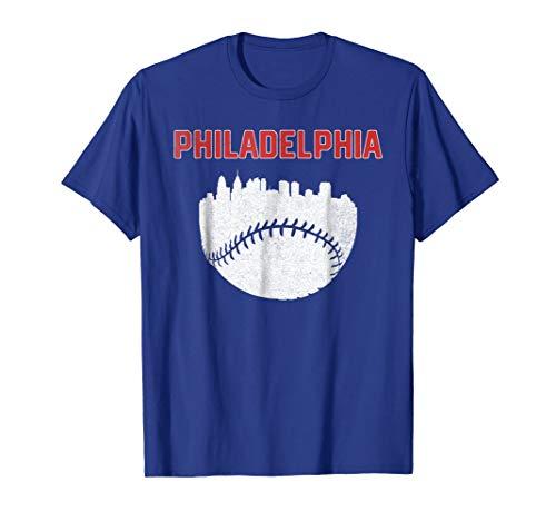 Vintage Philadelphia PA Cityscape Baseball Retro ()