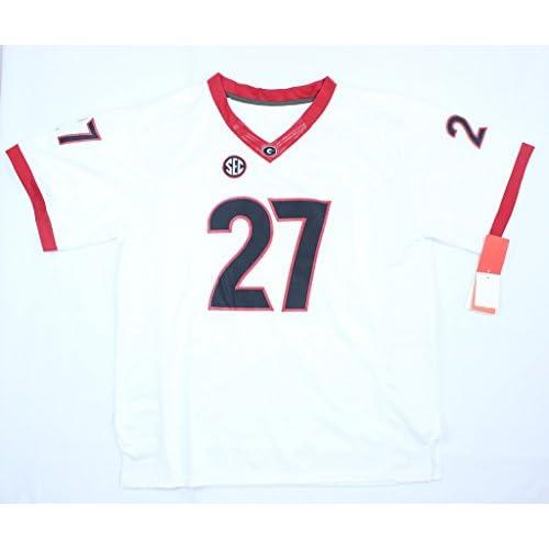 white nick chubb jersey