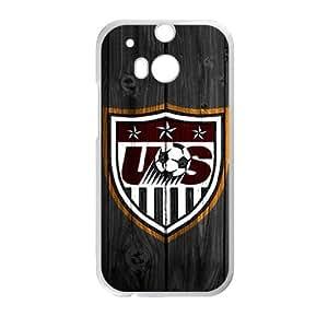 DAZHAHUI us soccer logo Phone Case for HTC One M8